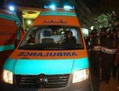 مصرع شخص وإصابة 5 آخرين فى حادث انقلاب سيارة ملاكى ببنى سويف