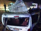 مصرع سيدة وإصابة 8 آخرين فى تصادم ميكروباص مع سيارة أجرة ببورسعيد