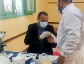محافظ قنا: الكشف على 610 حالات خلال قافلة طبية بقرية الرفشة فى أبوتشت