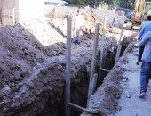 """نائب محافظ سوهاج يتفقد بدء أعمال تنفيذ مشروع الصرف الصحى بـ""""تل الزوكى"""" بطما"""