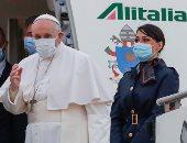 البابا فرنسيس يصل مدينة أور الأثرية للصلاة فى بيت النبى إبراهيم