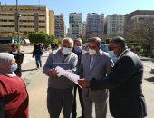 رئيس جامعة الأزهر يتفقد أعمال الصيانة بالمدينة الجامعية للطالبات