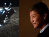 300 ألف شخص يسجلون لمرافقة ملياردير يابانى فى رحلة حول القمر