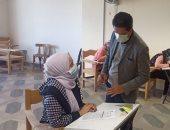 القائم بأعمال رئيس جامعة بنها يتفقد سير الامتحانات المسائية بكلية الفنون التطبيقية