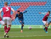 ملخص وأهداف مباراة بيرنلي ضد أرسنال في الدوري الإنجليزي