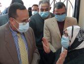 محافظ شمال سيناء يتابع توزيع الدفعة الأولى من لقاح الكورونا.. صور وفيديو