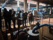"""رئيس جهاز """"6 أكتوبر"""" يتفقد محطة تنقية مياه الشرب الرئيسية بالمدينة"""