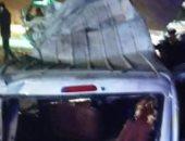 حادث الكريمات ..سائق النقل: الاصطدام وقع دون قصد لانفجار الإطار الأمامى
