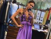 هكذا خطفت فيكتوريا بيكهام الأنظار بفستان من تصميمها.. صور
