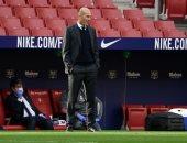 زيدان ثانى مدرب يحقق أكبر عدد من المباريات فى تاريخ ريال مدريد
