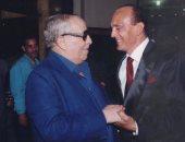 محمد صبحى فى صور قديمة مع فؤاد المهندس وعبد المنعم مدبولى: لن أنسى دعمكما لى