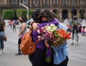 يوم المرأة العالمى.. احتفالات واحتجاجات بطرق مختلفة.. ألبوم صور