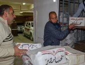 حياة كريمة.. توزيع 2000 شنطة مواد غذائية على الأسر الأولى بالرعاية بالإسكندرية