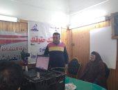 استخراج 375 بطاقة رقم قومى مجانية للسيدات والفتيات بـ3 قرى بكفر الشيخ