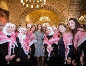 الملكة رانيا فى يوم المرأة العالمى: تعمل وترعى وتملأ الفراغات وترفع الهمم