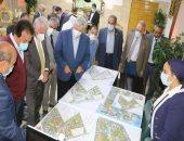 محافظ جنوب سيناء ووزير التعليم العالى يناقشان مخطط المنطقة اللوجستية بجامعة الملك سلمان