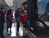 نكانا الزامبى يصل القاهرة استعدادا لمواجهة بيراميدز.. صور