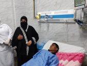 نقل الشاب محمد جمال لمعهد ناصر للبدء فى علاجه بعد توجيه الرئيس السيسى