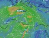 الأرصاد: صور الأقمار الصناعية تكشف تأثر البلاد بمنخفض جوى حرارى