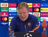كومان: لم نستحق هذه النتيجة وميسي مستقبله فى برشلونة