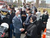 الرئيس السيسي أب للجميع.. شاهد ماذا قال أهالى الشهداء فى يوم الشهيد ببورسعيد
