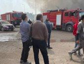 أحد مصابى حريق مصنع العبور: فديت 3 بنات وتلقيت النيران كلها.. فيديو