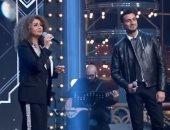 """سمر يسري تغني """"لولا الملامة"""" مع محمد الشرنوبي في """"يوم ليك"""""""