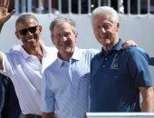 أوباما وبوش وكلينتون فى إعلان دعائى لتلقى لقاح كورونا.. وغياب ترامب