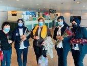 مطار الغردقة يستقبل أول رحلة جوية من أوزباكستان تقل 144 راكبا