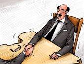 كاريكاتير صحيفة إماراتية: تشكيل الحكومة الليبية الحل الأمثل للم شمل الفرقاء