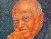 """""""كيرلس"""" يجسد موهبته من خلال البورتيرهات الفنية للمشاهير"""