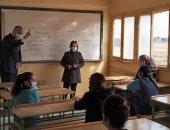 التعليم تعلن ارتفاع نسب حضور الطلاب رغم منحهم حرية التواجد بالمدارس.. صور