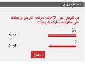 %51 من القراء يتوقعون عبور الزمالك موقعة الترجى غدا الثلاثاء