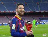 ترتيب هدافي الدوري الإسباني.. ميسي يواصل الصدارة