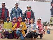 انطلاقة جديدة للمسارح المتنقلة بقرية الإمام مالك بوادى النطرون فى البحيرة