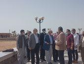 محافظ جنوب سيناء يتفقد مشروعات بالطور قبل أيام من افتتاحها فى العيد القومى