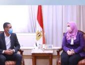 وزيرة التضامن عن تعيين نزيل بدار رعاية أيتام معيدا: أتشرف أن أكون أم عبدالله