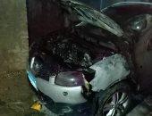 أمن القليوبية يكشف غموض واقعة حرق سيارة محامى ببنها: خلافات عائلية
