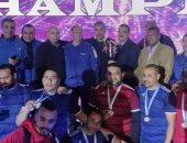 """فريق الكرة الخماسية لـ """"تجميل الجيزة"""" يفوز ببطولة الجمهورية للمصالح الحكومية"""