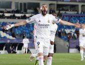كريم بنزيما خامس لاعب يصل لـ 70 هدفا فى دوري أبطال أوروبا