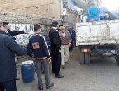 تحرير 200 محضر مخالفة وإشغالات فى حملة مرافق مكبرة بمدينة المراغة