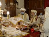 الكنيسة تحيى الذكرى التاسعة لوفاة البابا شنودة الثالث فى وادى النطرون