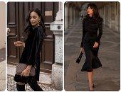 الفساتين السوداء تتصدر اتجاهات أزياء ربيع 2021.. اعرفى إزاى تلبسيها