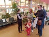 مطار شرم الشيخ يستقبل أولى الرحلات الجوية الأوكرانية.. صور