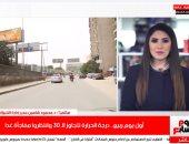 الأرصاد: الجو حر بس استنوا الساقعة آخر الأسبوع.. تغطية لتليفزيون اليوم السابع