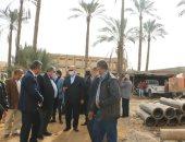 محافظ القاهرة يوجه بسرعة الانتهاء من مشروعات الصرف الصحى بالمرج