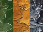 صور نهر متجمد فى سيبيريا تثير حالة جدل بين علماء بوكالة ناسا وخبراء روس