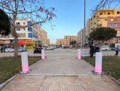 بدء تنفيذ خطة تركيب إضاءة ديكورية بالشوارع والطرق الرئيسية بمدينة بدر