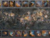 شاهد.. صورة تلتقط مجرة درب التبانة كلها احتاجت 12سنة لإنتاجها