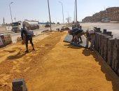 رئيس جهاز القاهرة الجديدة: تكثيف أعمال تطوير الطرق والمحاور الرئيسية بالتجمع الأول